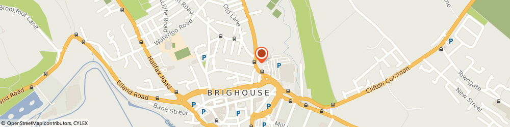 Route/map/directions to Highton Consultancy Ltd, HD6 1RY Brighouse, SLEIGH & STORY LTD TECHNOLOGY HOUSE, 46B BRADFORD ROAD