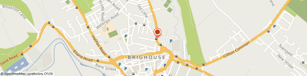 Route/map/directions to Live at the Ritz Brighouse, HD6 4AD Brighouse, 73 Bradford Rd