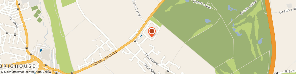 Route/map/directions to Sizzling Pubs - The Armytage Arms, HD6 4HX Brighouse, Towngate