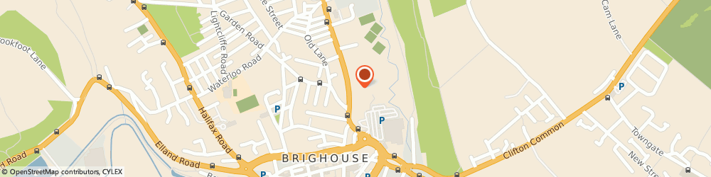 Route/map/directions to J C Bates of Brighouse, HD6 4AA Brighouse, Wellhome Garage 74 Bradford Road