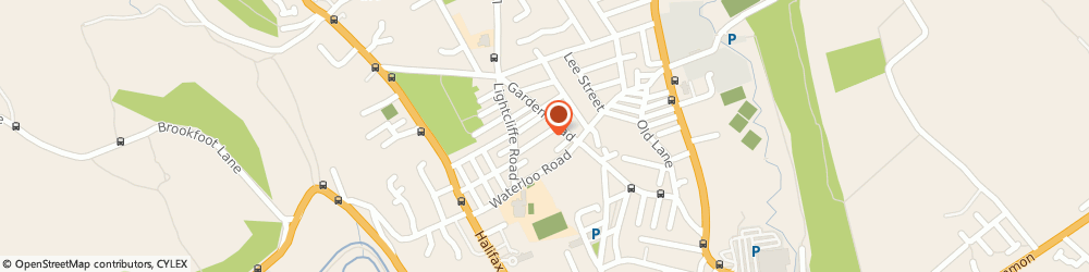 Route/map/directions to The Prince Albert, HD6 2AZ Brighouse, 17 St Martin's View
