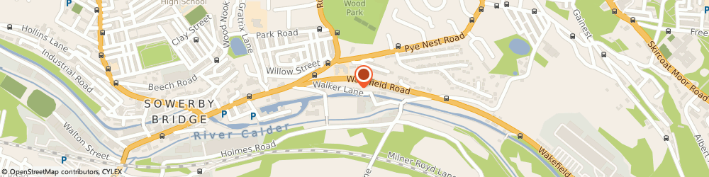 Route/map/directions to hd extreme clean, HX6 2AR Halifax, Unit 4 Hillas Industrial Estate, Walker Lane