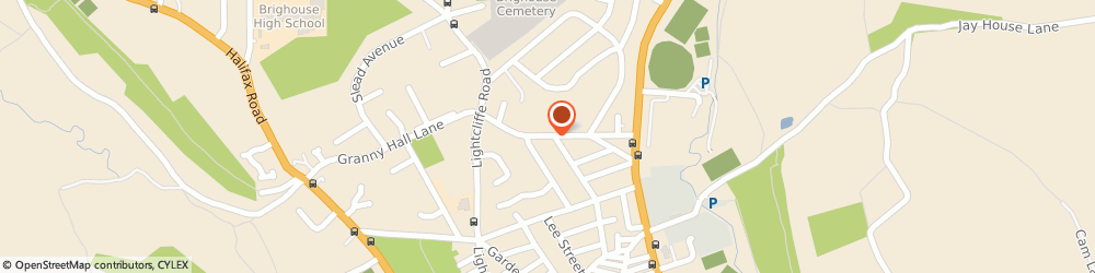 Route/map/directions to DB Dental Equipment Ltd BRIGHOUSE, HD6 4BG Brighouse, 53 Smithy Carr Lane