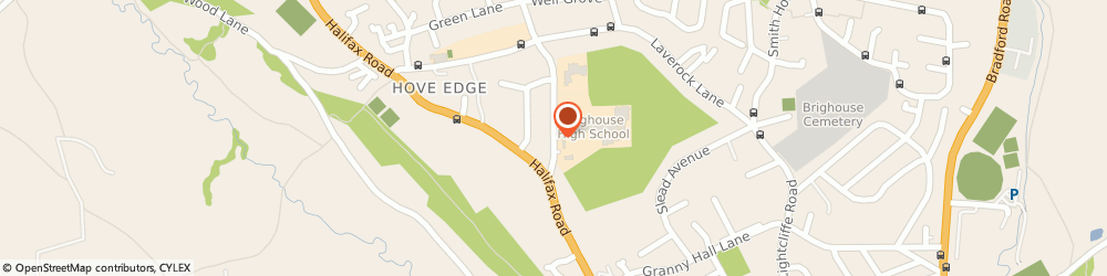 Route/map/directions to Stagecoach Performing Arts Schools Brighouse, HD6 2NY Brighouse, Finkil Street