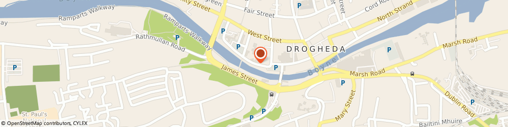Route/map/directions to Rhino Records,  Drogheda, WELLINGTON QUAY