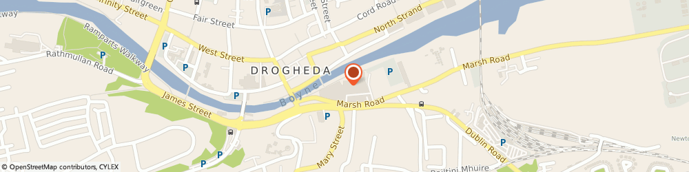 Route/map/directions to Monsoon,  Drogheda, Unit 1-3, Scotch Hall Shopping Centre