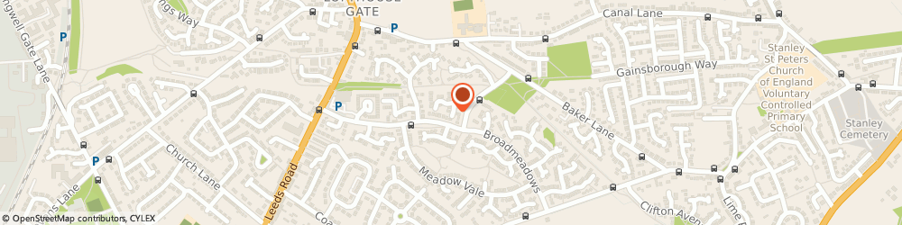 Route/map/directions to InTeDev Focussed Psychotherapy (Hypno-Band Wakefield), WF1 3TL Wakefield, 19 The Hawthorns