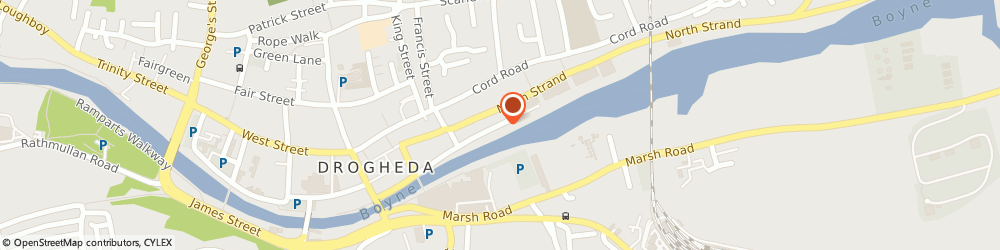 Route/map/directions to Ledwith Industrial Motor Factors, A92 Drogheda, Merchants Quay
