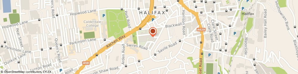 Route/map/directions to Halifax Motor Cycle Spares, HX1 2EL Brunswick Industrial Estate, UNIT 5/CARLTON MILLS SOUTH STREET