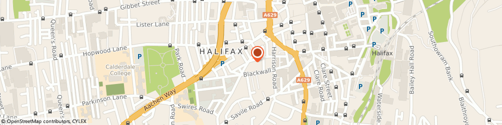 Route/map/directions to Metro Cars, HX1 2AL Halifax, 19 Carlton St