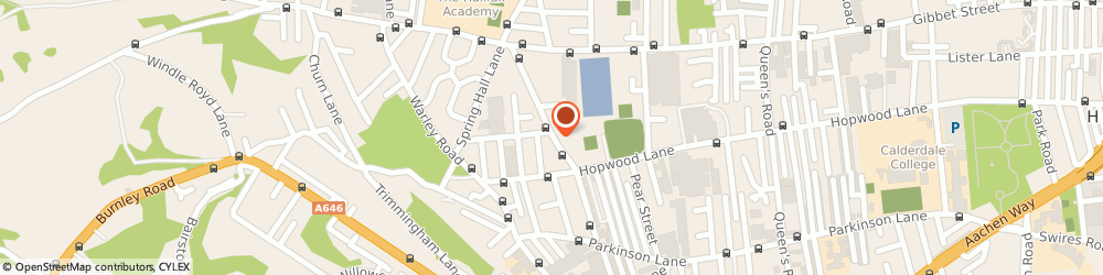 Route/map/directions to NORTHERNAUTOSPARES, HX1 4HE Halifax, 60 Gibraltar Road