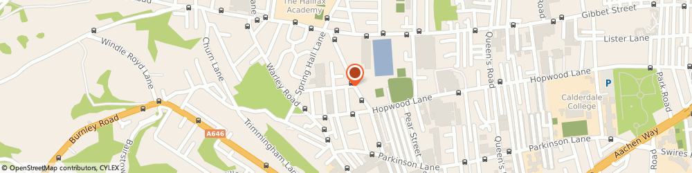 Route/map/directions to Excel Paving & Fencing, HX1 4HN Halifax, 31 Mile Cross Rd