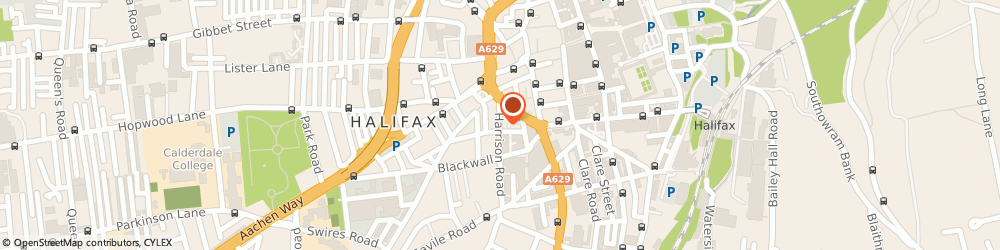 Route/map/directions to Bar Eleven, HX1 2AF Halifax, 11-11a Harrison Road