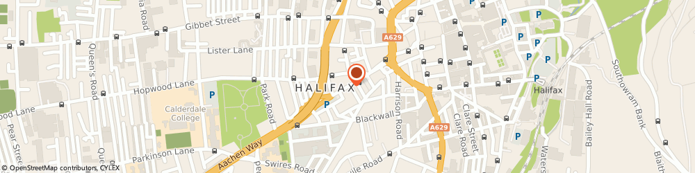 Route/map/directions to A1 Ziggy's Taxis, HX1 2SH Halifax, 20 KING CROSS STREET