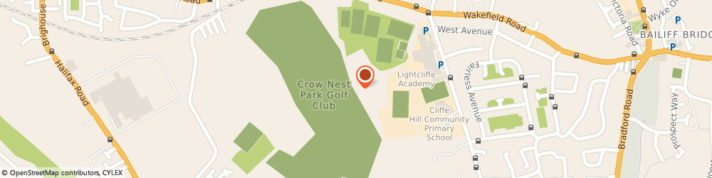 Route/map/directions to Crow Nest Park Golf Club Ltd, HD6 2LN Brighouse, Coach Road, Hove Edge