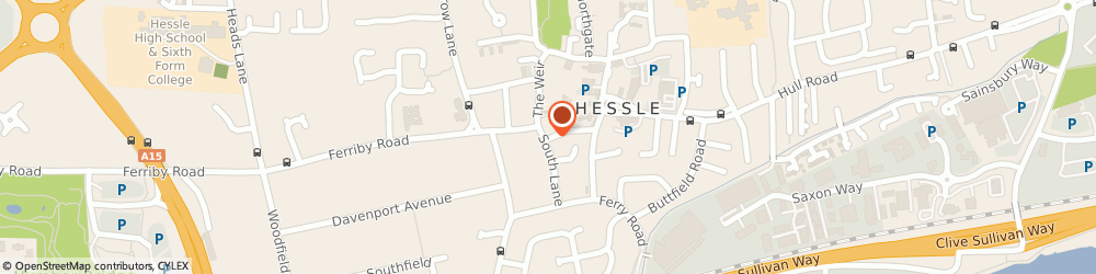 Route/map/directions to NatWest - HESSLE ATM, HU13 0RR Hessle, 11 South Lane