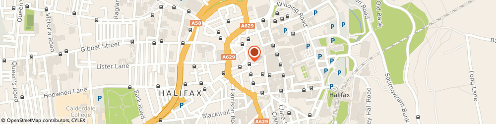 Route/map/directions to RBS The Royal Bank of Scotland HALIFAX, HX1 1TA Halifax, 20 Commercial Street
