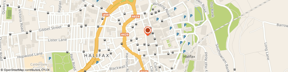 Route/map/directions to wilko, HX1 1DR Halifax, 2 Southgate