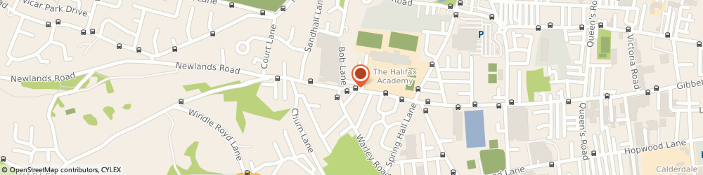 Route/map/directions to Stuarts Hardware, HX2 0AX Halifax, 446 - 448 Gibbet St