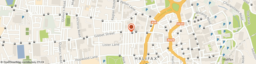 Route/map/directions to Bilawal Halal Meat, HX1 5BP Halifax, 119 GIBBET STREET
