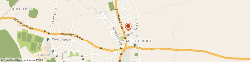 Route/map/directions to Cladding Depot, HD6 4EA Brighouse, 7, Branxholme Industrial Estate, Bradford Rd