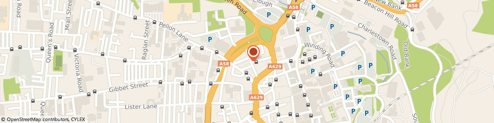 Route/map/directions to Alcoholics Anonymous, HX1 1YS Halifax, St James Rd