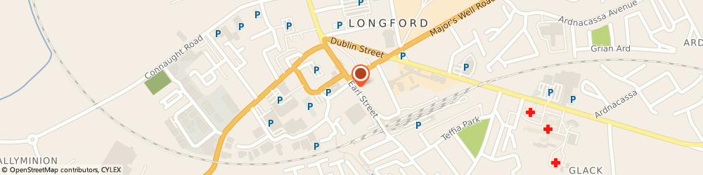 Route/map/directions to Lost Chord The, N39 Longford, 16, 17 EARLS ST