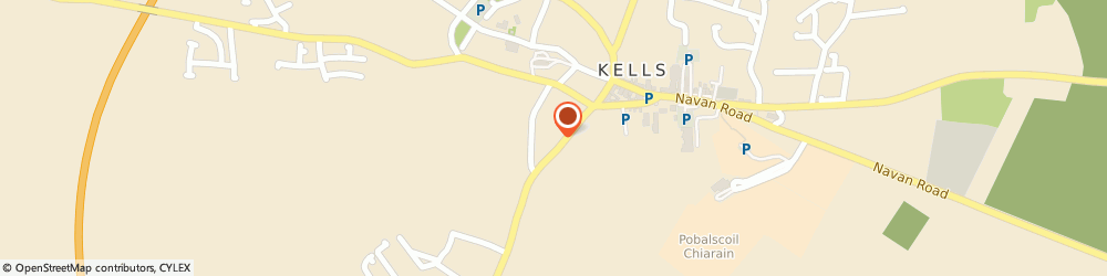 Route/map/directions to Homag Ireland,  Kells, KELLS BUSINESS PARK