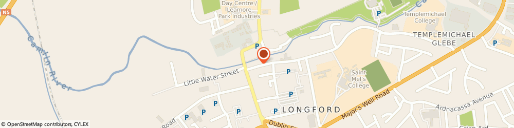 Route/map/directions to Music Link, N39 Longford, 2 RIVER COURT GREAT WATER ST
