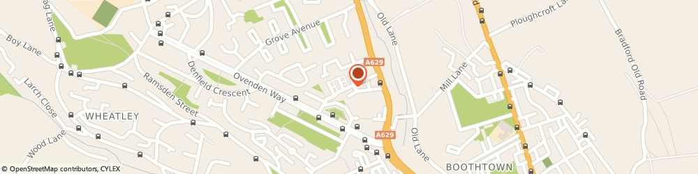 Route/map/directions to E Feather Ltd, HX3 5QF Halifax, Friendly Fold Road