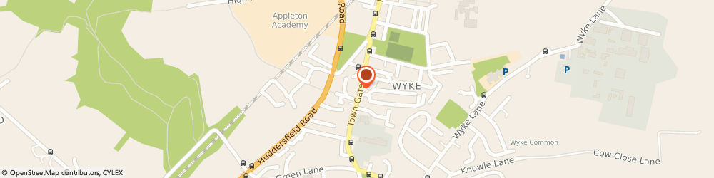 Route/map/directions to Post Office Limited, BD12 9JA Bradford, 48 Towngate