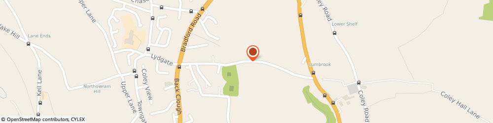 Route/map/directions to M & S Engineering, HX3 7TY Halifax, Lumbrook Mills, Westercroft Lane