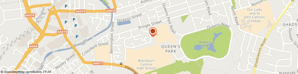 Route/map/directions to Crown Cars Taxi & Chauffeuring Service | Blackburn, BB1 1RZ Blackburn, 101 Whitendale Cres