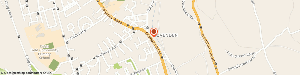 Route/map/directions to G T AUTOS, HX3 5TJ Halifax, 296 Ovenden Road