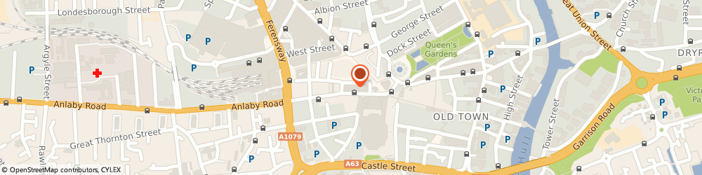 Route/map/directions to Dorothea's Travel Shop, HU1 3NA Hull, 29 Paragon Street