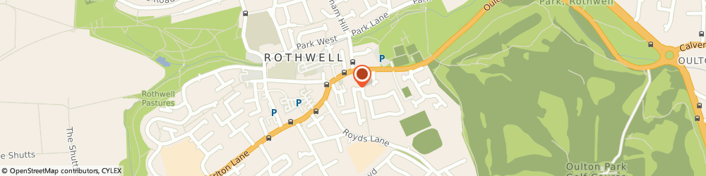 Route/map/directions to ROLLING CENTRE LIMITED, LS12 5XE Leeds, Unit 6, Whitehall Cross