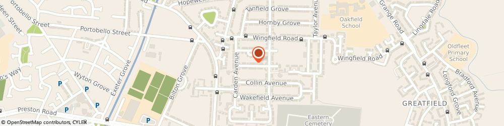 Route/map/directions to J W H Building Services Ltd, HU9 4RU Hull, 1 Grantley Grove