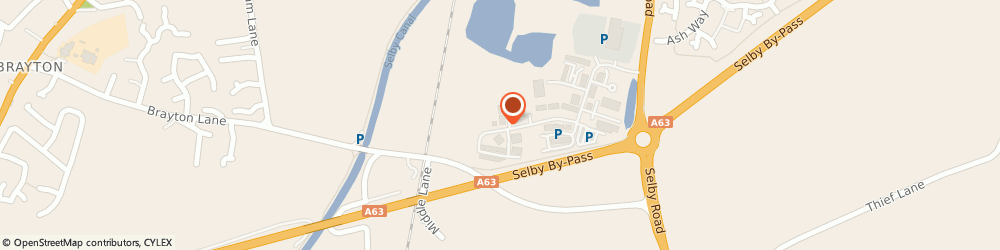 Route/map/directions to ASDA Tyres - Union Tyres Ltd, YO8 8FN Selby, Oakney Wood Court, Selby Business Park