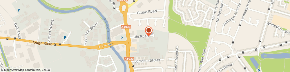 Route/map/directions to ASDA Tyres - Brit Tyres, HU7OBT Hull, Rix Road