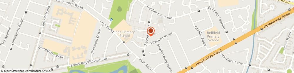 Route/map/directions to ASDA Tyres - Savoy Tyres, HU8 0TY Hull, Savoy Road