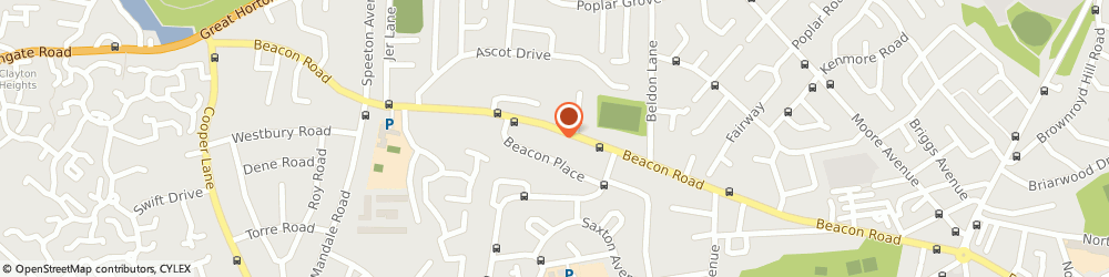 Route/map/directions to Food Wine & Vision, BD6 3DR Bradford, 243, BEACON ROAD