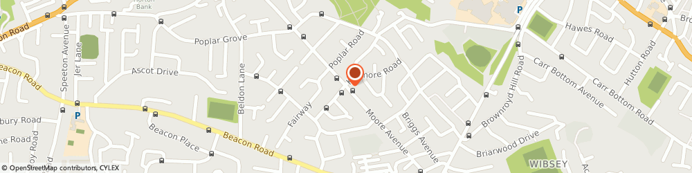 Route/map/directions to Vinnys Off License, BD6 3HU Bradford, 94 Moore Avenue