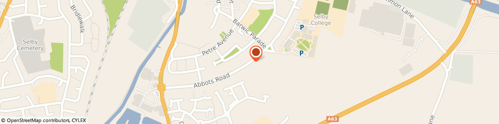 Route/map/directions to Bright Start Day Nursery, YO8 8AT Selby, Abbots Road