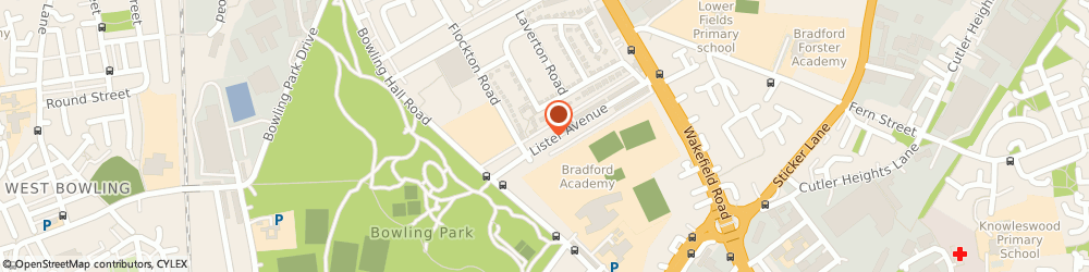 Route/map/directions to Fairfax Food Stores, BD4 7QS Bradford, 146 LISTER AVENUE