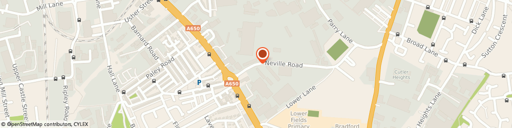 Route/map/directions to Opulence Executive Travel, BD4 8TU Bradford, 2 Neville Rd