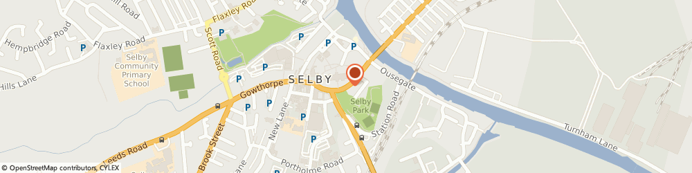 Route/map/directions to Potential4Skills - Selby, YO8 4PU Selby, 5 The Crescent