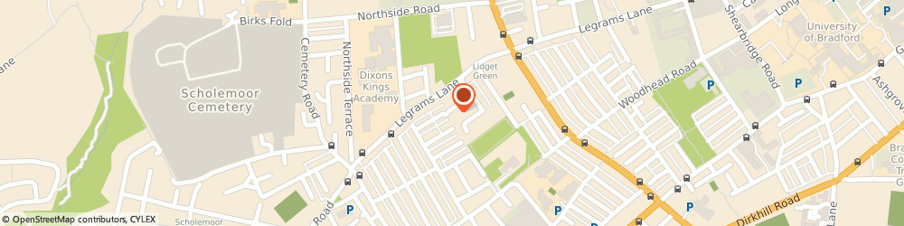 Route/map/directions to Falcon Travel bradford ltd, BD7 2EQ Bradford, 17 Ellercroft Terrace