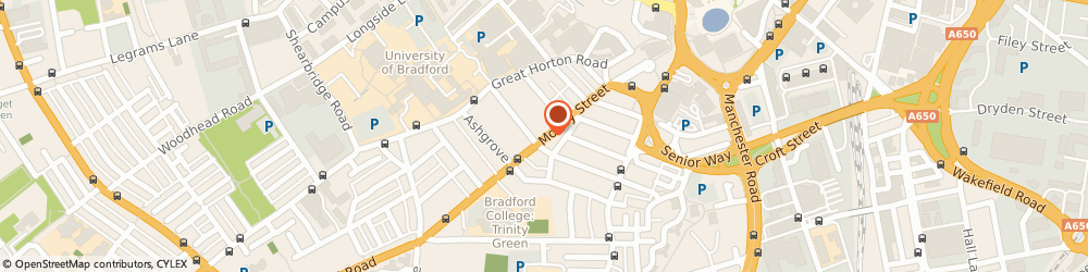 Route/map/directions to Claremont Off Licence, BD7 1BB Bradford, 122 Morley Street