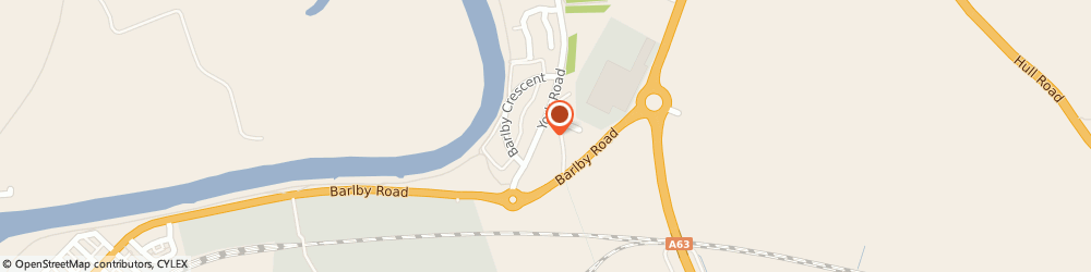 Route/map/directions to Selby Bike Breakers, YO8 5BE Selby, Barlby Road