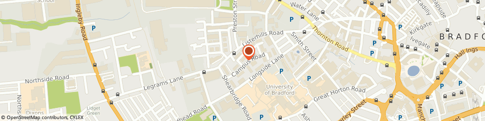 Route/map/directions to Greggs, BD7 1ND Bradford, Legrams Lane